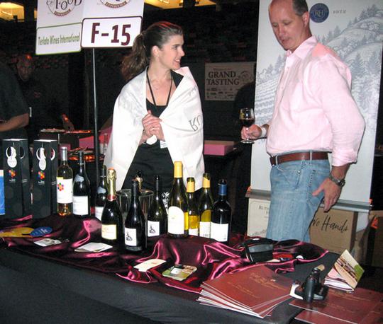Terlato Wines table