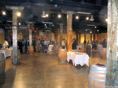 The Foundry provided a spacious venue for the tasting.